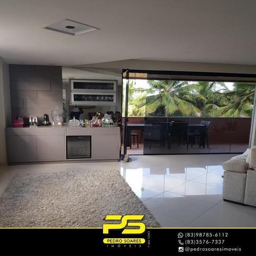 Apartamento Com 3 Dormitórios À Venda, 200 M² Por R$ 650.000,00 - Bessa - João Pessoa/pb - Ap3378