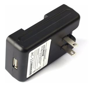 Carregador Universal 2 Em 1 Bateria E Celular Visor Lcd/usb