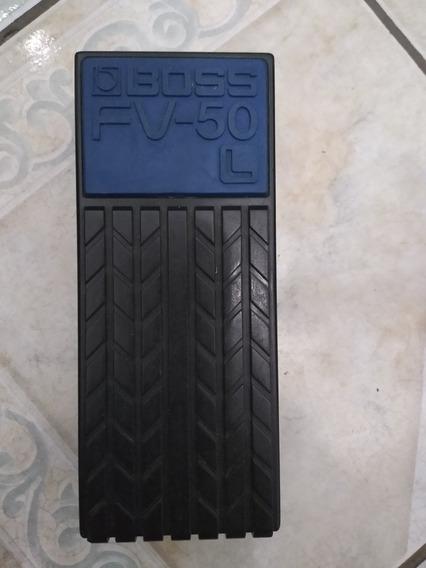 Pedal De Volume Boss Fv50