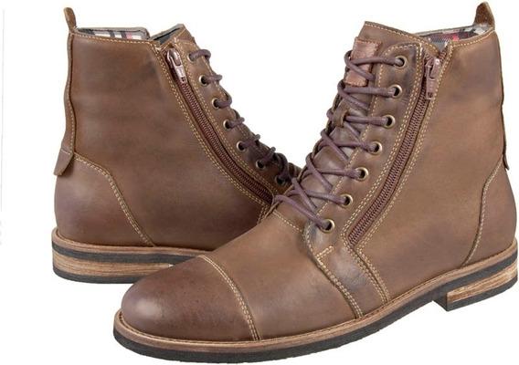 Bota Masculina Shoes Grand Rustico Couro Legítimo - 56100