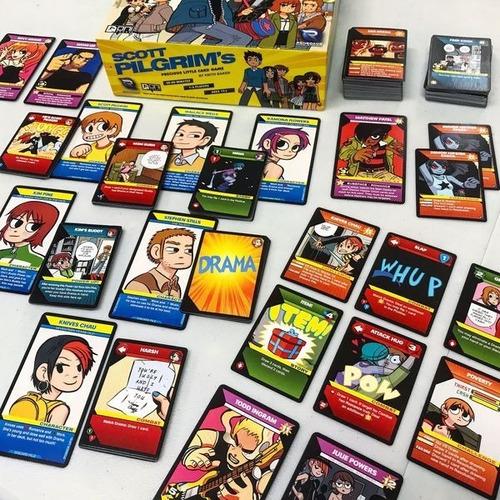 Scott Pilgrim S Precious Little Card Game Juego De Mesa Mercado Libre