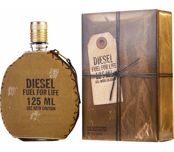 Perfume Diesel Fuel For Life 125ml Masculino - 100% Original