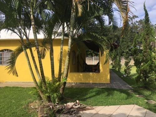Chácara Com Piscina E 3 Quartos Em Itanhaém/sp 5593-pc