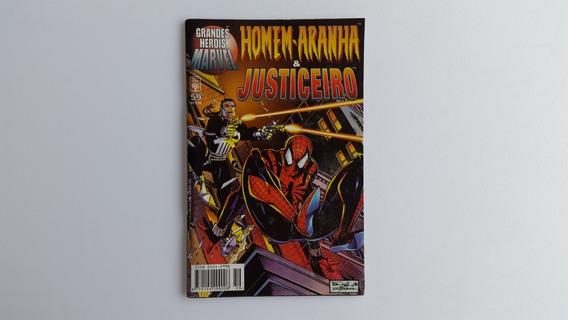 Gibi Homem Aranha & Justiceiros Nº59 - Grandes Herois Marvel