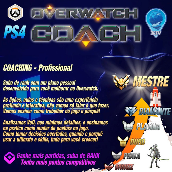 Overwatch Coach / Coaching - Ps4 Pc Xbox