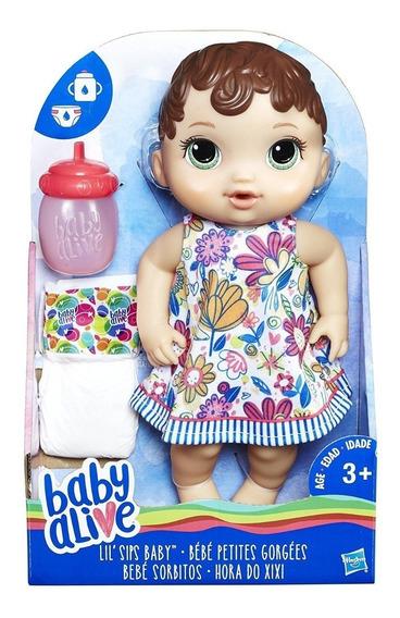 Boneca Baby Alive Hora Do Xixi Morena Original Barata Promo