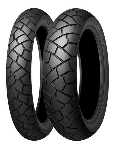 Juego Cubierta Moto Dunlop 110 80 19 - 150 70 17 Mixtour Frd