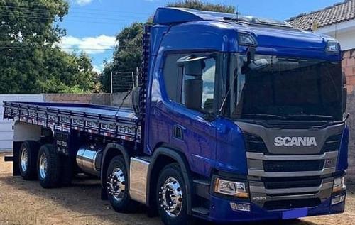 Scania P320 - Carroceria Grade Baixa - 2020