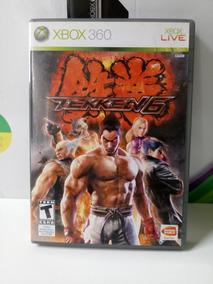 Tekken 6 Xbox 360 - Original - Frete R$12