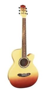 Guitarra Acústica Gypsy Rose Caramel Burst + Funda - Promo!