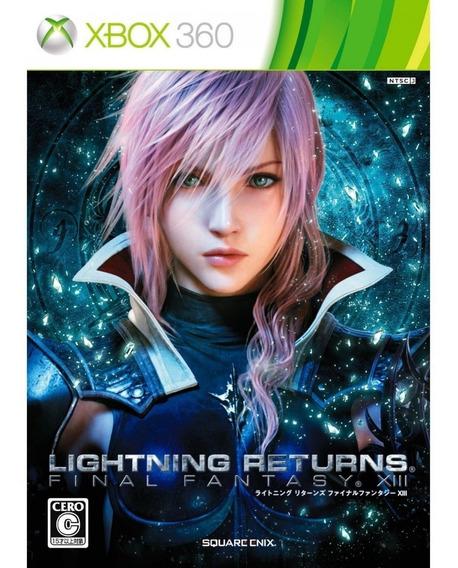 Lightning Returns Final Fantasy Xiii Xbox 360   Mídia Física