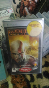 God Of War Chain Of Olympus Psp.