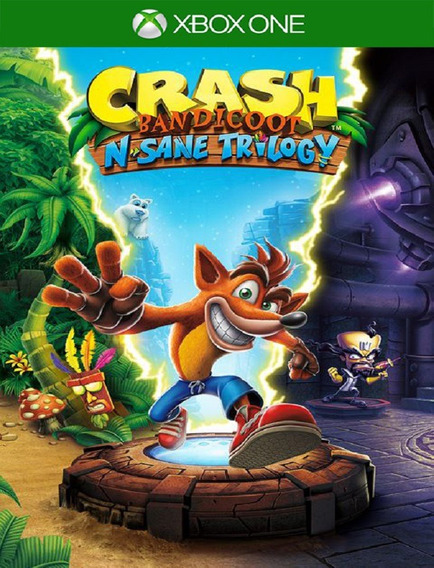 Crash Bandicoot Trilogy - Xbox One (25 Dígitos)