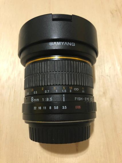 Lente Samyang 8mm /f3.5
