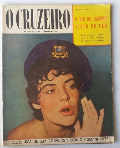 Revista O Cruzeiro 1955 Aniversario D 388 Ano Rio De Janeiro