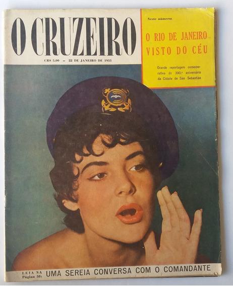Revista O Cruzeiro 1955 Aniversario D Rio De Janeiro 388 Ano