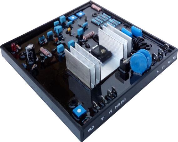 Avr Regulador De Tensão Excitatriz Para Geradores - 10 Amp