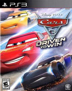 Cars 3 Driven To Win Ps3 Digital Gcp
