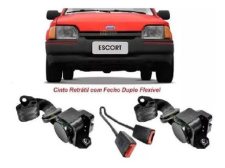 Kit Cinto Segurança Ford Escort Dianteiro Conversível Xr3