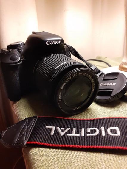 Canon T3i + Lente 18-55mm +2 Baterias