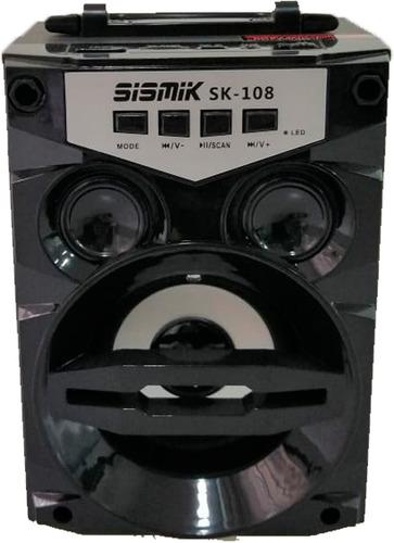Sk-108 Sismik Sound Parlante Usb Bluetooth Sonido Inalambric