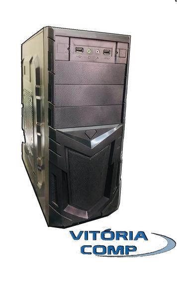 Cpu Core 2 Duo E8500 + 4gb + Hd 320gb + Gabinete Novo