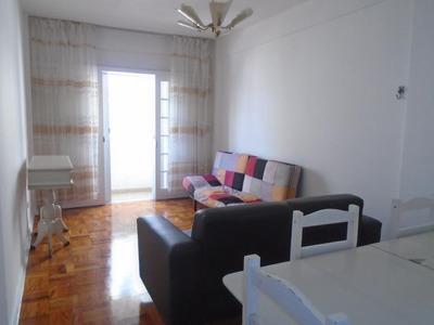 Apartamento Para Alugar, 50 M² Por R$ 1.699/mês - José Menino - Santos/sp - Kn0151