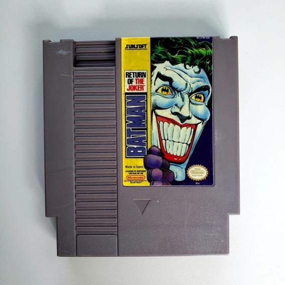 Batman Return Of The Joker Original Nes Nintendinho