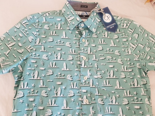 Camisa Estampado Tropical OCCEAN CURRENT Camisas Hombre