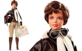 Barbie Doll Inspiring Women Amelia Earhart - Mattel Fjh64