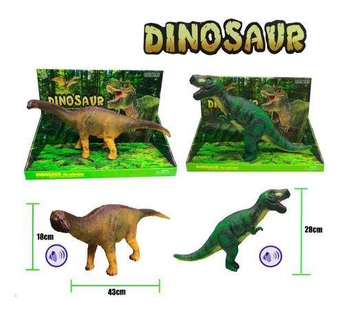 Dinosaurio Grande Con Sonidos De Goma Con Sonidos Y Bateria