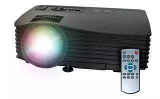 Proyector Mini Uc36 150 Lumens Portatil Led Hd