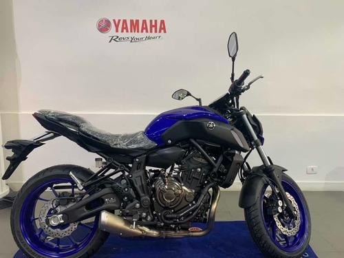 Yamaha Mt07 Abs Azul 2021