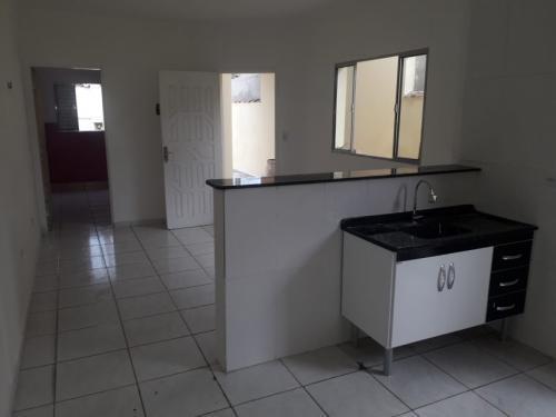 Casa Geminada Em Reforma No Bairro Gaivotas Em Itanhaém 7700