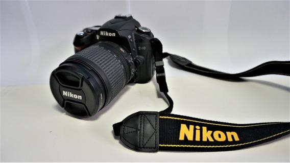 Câmera Fotográfica Nikon D90 + Lente Kit + Bolsa Pouco Uso!!