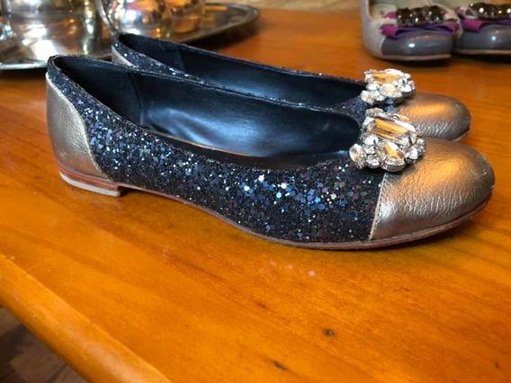 Zapatos Amor Y Julia Talle 37 Glitter