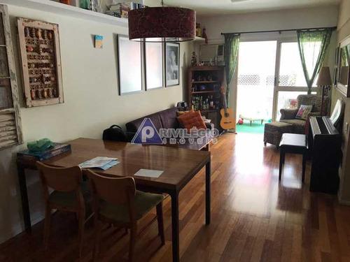 Apartamento À Venda, 3 Quartos, 1 Suíte, 2 Vagas, Jardim Botânico - Rio De Janeiro/rj - 23974