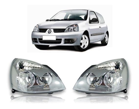 Par Farol Renault Clio 2003 2004 2005 2006 A 2012 Foco Duplo