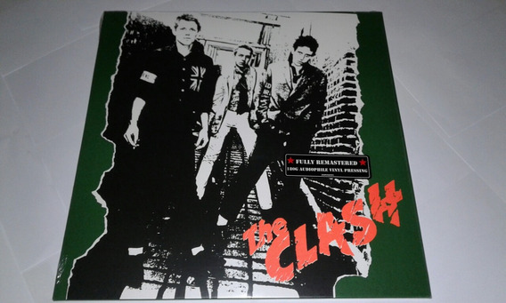 Lp The Clash S/t Vinil Novo E Lacrado Eu
