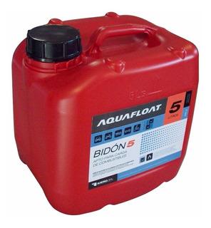 Bidón Combustible 5 Litros Aquafloat, Apilable