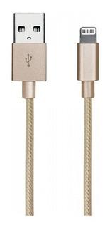 Cable iPhone 5 6 7 X De 1m Blindado Carga Rapida 8694