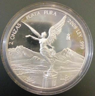 Moneda De 2 Onzas Libertad.