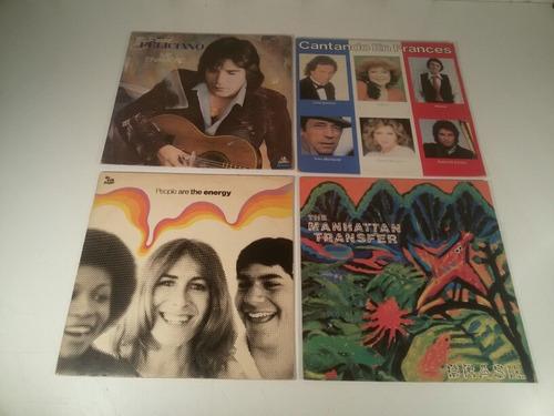 Combo Discos Lp De Vinilo O Acetato Musica De Los 70