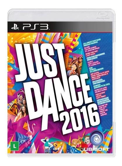 Just Dance 2016 - Ps3 - [ Mídia Física, Original E Lacrada ]