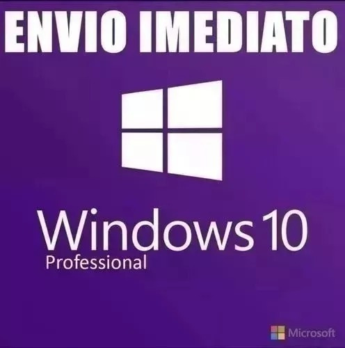 Licença Microsoft Windows 10 Pro Serial Key Ativa Online