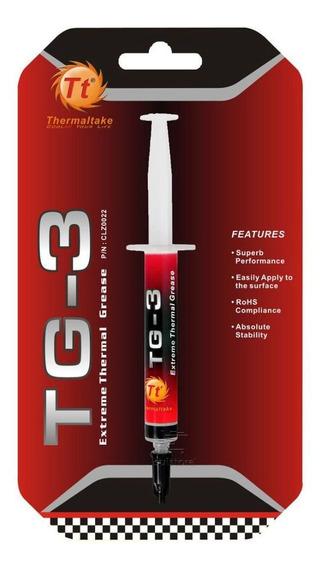 Pasta Térmica Thermaltake Tg-3 4g Clz0022 Cinza Processador