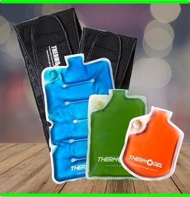 Thermo Gel Compresa Kit 3 Compresas Thermogel Caliente Frio