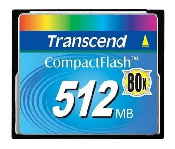 Memória Compact Flash Transcend 512mb Cf