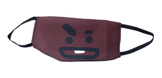 Máscara Bts Shooky Suga Emoji Kpop