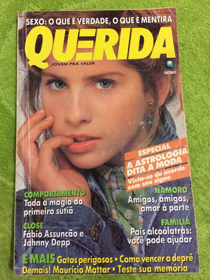 Revista Querida 91 Karina B Fabio A Johnny D Adriana Esteves